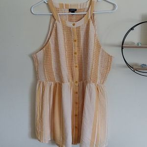 NWT Striped Halter Top